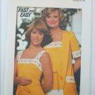 Butterick 4183 misses camisole & cardigan top size 12 UNCUT pattern
