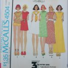 Butterick 4504 misses basic dress Stretch Knits only sizes 10 12 14 UNCUT
