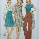Vogue 9024 misses suit pants jacket skirt shirt size 12 uncut pattern retro
