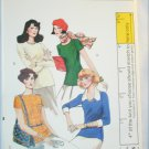 Vogue 8978 misses tops stretch knits only size 12 UNCUT retro pattern