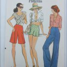 Vogue 8921 misses pants only in  3 lengths size 25 waist UNCUT retro pattern