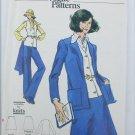 Vogue 8533 suit jacket vest skirt pants size 12 UNCUT parttern