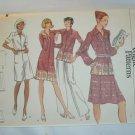 Vogue 8591 retro misses dress shirt skirt pants size 12 uncut pattern