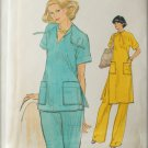 Vogue 9722 misses top tunic pants size 12 bust 34 UNCUT pattern