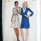 Butterick 3531 misses A line dress size 12 bust 34 UNCUT retro pattern