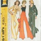 McCall 4163 misses jacket top pants retro 1974 size 12 pattern UNCUT