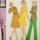 McCall 3448 misses dress tunic pants size 12 bust 34 UNCUT pattern