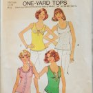 Simplicity 6976 misses tops 1 yard size 12 to 14 UNCUT retro stretch knits