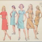 Simplicity 9906 misses simple A line dress size 12 UNCUT retro 1972 pattern