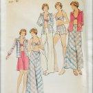 Butterick 3728 misses bra top shirt skirt pants shorts size 10 UNCUT pattern