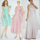 Simplicity 7636 Jessica McClintock formal prom dress pattern sizes 6 8 10 UNCUT