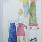 Simplicity 5982 misses skirt size 12 waist 26 1/2 jiffy pattern
