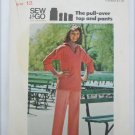 Butterick 3881 misses pull over top & pants size 12 pattern