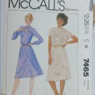 McCall 7465 pullover dress size 20 bust 42 pattern