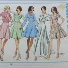 Vogue 2840 misses dress pattern collar variations size 14 B 36