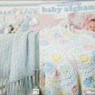 2 Leisure Arts Quick and Easy and Snuggletime baby afghan books
