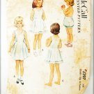 McCall 3397 vintage pattern child slip only girls size 4 from 1951