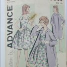 Advance 9644 vintage pattern for COAT ONLY no dress size 12 bust 31