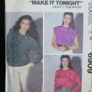McCall 6909 misses blouse sizes 14 16 UNCUT pattern retro