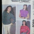 McCall 6909 misses blouse sizes 14 16 UNCUT pattern retro