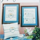 Love Never Ends cross stitch pattern Imaginating Leaflet 22