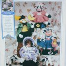 Fibre craft Nursery Favorites crochet patterns Bo Peep sheep Little Piggy Cat Fiddle