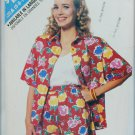 Butterick 6405 summer shorts top shirt sizes 6 8 10 12 14 UNCUT pattern