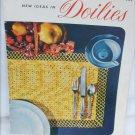 Doilies J&P Coats pattern book 283 crochet designs vintage 1952