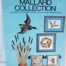 Cross stitch needlepoint pattern book Mallard Collection 9 designs