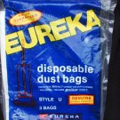 Eureka disposable dust bags style U sealed 3 pack