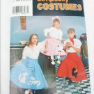 Simplicity 0660 girl retro 50s skirt size 8 10 12 14 poodle cat patterns UNCUT
