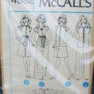 McCall 4992 misses dress skirt pants size 14 UNCUT pattern no envelop
