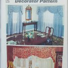 Simplicity 6196 decorator pattern for swag with jabot valance UNCUT