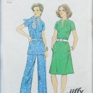 Simplicity 6273 misses wide leg pants dress or top size 12 pattern