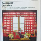 Butterick 3465 decorator curtains pattern uncut cafe valances floor length
