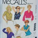 McCall 6866 ladies blouse sewing pattern size 14 bust 36