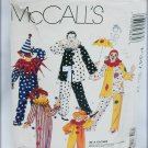McCall P347child clown costume pattern size 2 4 sewing pattern