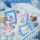 Leisure Arts 2100 Rock a Bye baby cross stitch pattern leaflet