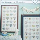 Heart Strings Alphabet of Memories cross stitch patterns