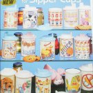 American School of Needlework 3610 Cross stitch Sipper cups 17 designs 3610