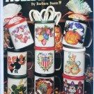 Leisure Arts 2413 Holiday Mugs cross stitch design leaflet