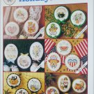 Cross stitch Holidays All Year Dimensions 12 button designs