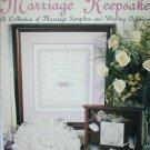 Leisure Arts 2241 Marriage Keepsakes cross stitch leaflet sampler