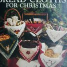Leisure Arts 741 Bread Cloths for Christmas leaflet 10 pattern cross stitch