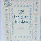Gloria & Pat cross stitch book 125 designer borders patterns 42 pages