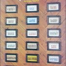 Cross stitch patterns Important People plaques doctor nurse secretary