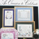 Stoney Creek An Occasion to Celebrate cross stitch booklet 128