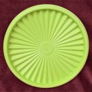 Tupperware replacement lid 808 mint green press and seal type good