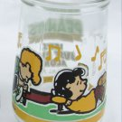 Welch jelly glass Peanuts #5 Let's Play Along Swanky Swig Lucy Shroeder