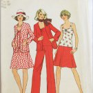 Simplicity 6547 misses top skirt cardigan pants Misses 14 B36 pattern